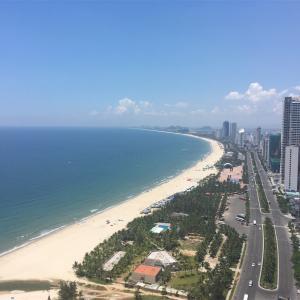 【ベトナム】ダナン・ミーケビーチ沿いを気持ちよくランニングする!