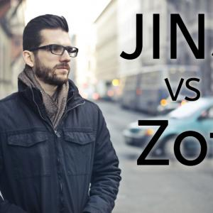 JINSとZoffのPCメガネ対決!クリアレンズの実力比較