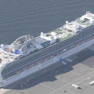 コロナウイルス クルーズ船から下船の乗客 28人が発熱など症状