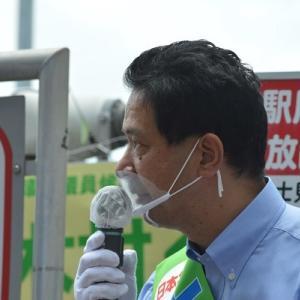 富士見市ダブル選挙がスタート