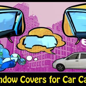 旅動画15:車の窓の目隠し
