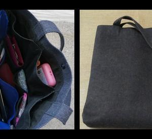 旅装備45:バッグの内ポケット