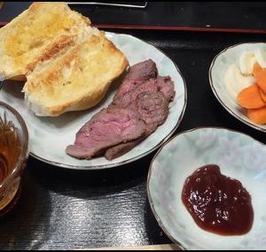 車中泊料理23:Skillet_ローストビーフ