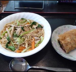 車中泊料理24:一人鍋_鶏野菜ラーメン