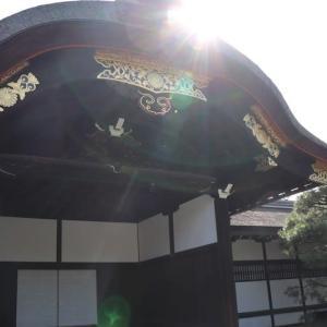 鴨川(6)京都御所・御車寄せ