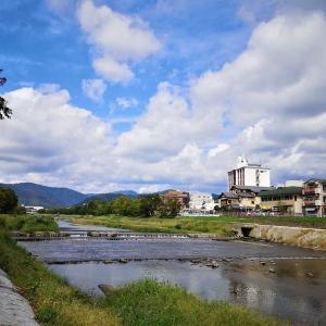 賀茂川(18)上賀茂御薗橋