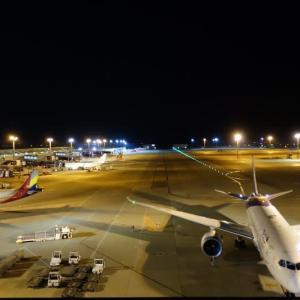 上海出張(2)空港夜景