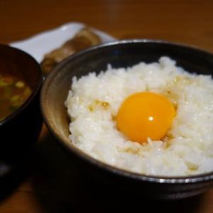 朝食:卵かけご飯