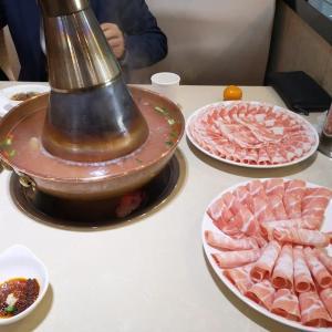 南京出張(6)老北京羊肉火鍋