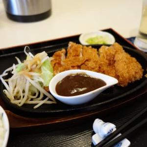 北山(6)まんぷく食堂 金閣寺きぬ:ジャンボチキンカツ定食