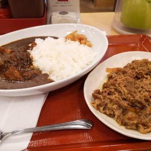 なか卯:プレミアムカレー+牛皿