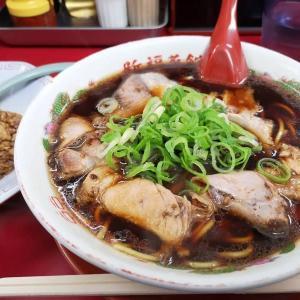 新福菜館:中華そば並+チャーハン小(A定食)