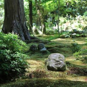 大原(6)苔のお地蔵さん