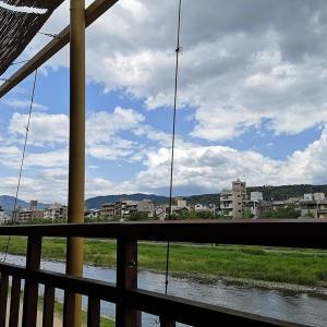 木屋町(3)鮒鶴京都鴨川リゾート・川床ランチ