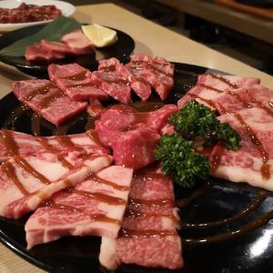 松阪(17)一升びん宮町店で松阪牛焼肉を食す