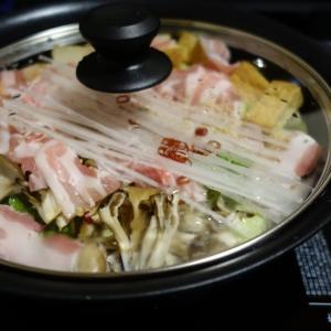 家呑み:豚バラ白菜鍋