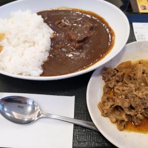 なか卯(53)プレミアムビーフカレー+牛皿