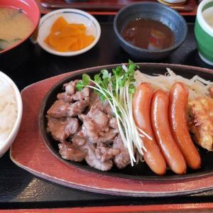 街かど屋(2)肩カルビ焼肉ミックス定食