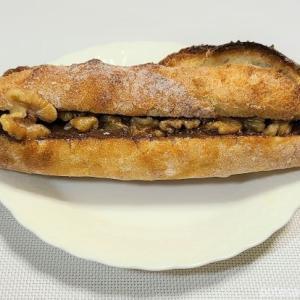 ブランジェリーケン「サンドフランス メープルバターとクルミ」