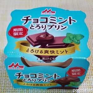 【期間限定】チョコミントブームがプリンにまで。森永「チョコミントとろりプリン」