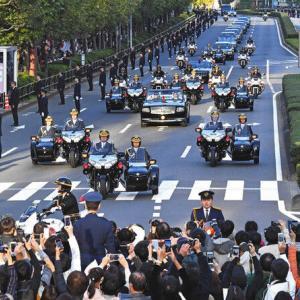 【天皇陛下即位】安倍首相の車が先導した祝賀パレードの平均視聴率は27.4%
