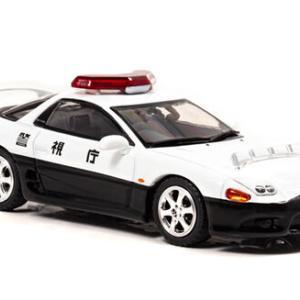 「渋すぎチョイス!!」 神奈川県警、警視庁の高速隊パトカーの精巧ミニカーがすごい 車種はあの「三菱 GTO」