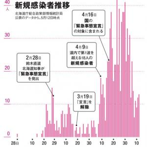 「これでも移動制限緩和?」 東京都 新たに35人感染確認 1日30人以上は4日連続