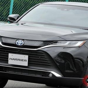 「なぜ、売れる?」トヨタ新型ハリアー 発売1か月で4万5千台受注、半年以上の納車待ち