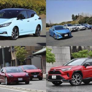 日本では電気自動車は売れていない...「電動化」っていうけど「EV」も「PHV」もほとんど見かけない!