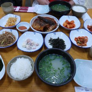 韓国・釜山のシジミスープ定食に大満足♡♡♡釜山タワー・国際市場・BIFF広場!!!