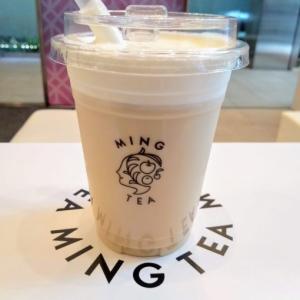本格台湾茶『MING TEA (ミンティー)』新宿店で 『焙煎鉄観音ミルクティーマキアート』