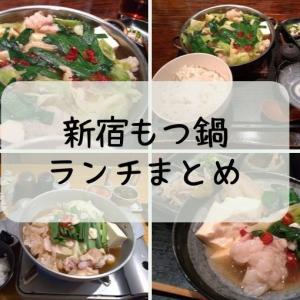 新宿でひとりでも入れる!もつ鍋ランチ全店まとめ-地元民おすすめの昼ごはん