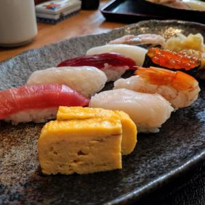 本格江戸前寿司の代々木『寿司 高瀬』で母親と二人で寿司ランチ