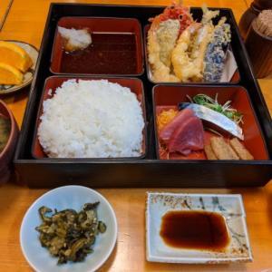 新宿西口ランチ♪サクッと軽い老舗の天ぷら「天秀 (てんひで)」の幕の内ランチ