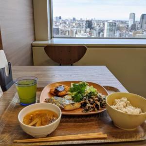 18階からの眺望とお野菜いっぱいのヘルシーランチ♪東京オペラシティ社食「GREEN'S CAFE」