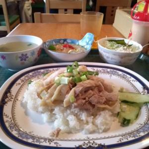 安くておいしい『タイ居酒屋 トンタイ』で『カオマンガイ&ミニグリーンカレー』