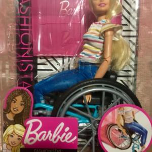 車椅子のバービー