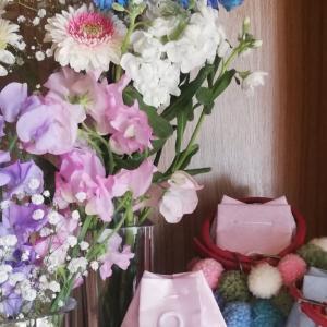 花を求めてと、息子の卒業研究