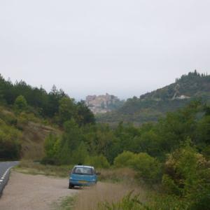 南フランス田舎紀行(13)岩山の上の鷲巣城塞都市コルド・シュル・シエル Cordes-sur-Ciel