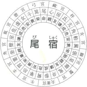 尾宿(びしゅく)