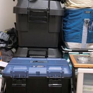 台風の中、家で断捨離作業❗️
