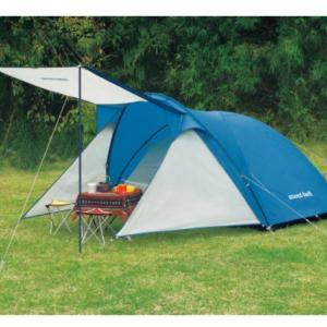 テントをポチッと⁉️