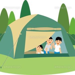 キャンプの事を考えると⁉️