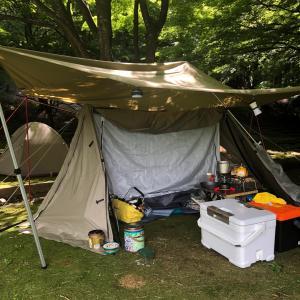 お盆夏休みキャンプ4日目❗️