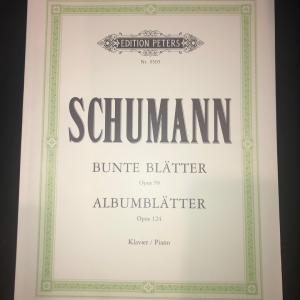 師匠、シューマンを語る -色とりどりの小品 Schumann/Bunte Blatter-