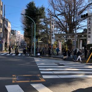 【東京都渋谷区】鳩森八幡神社