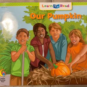 【レッスン】火曜・年長小学生クラスStep1 Our Pumpkin