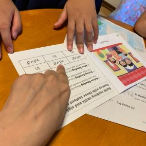 英語絵本で英語力だけでなく国語力まであがる「思考力」育て【火曜低学年クラス」