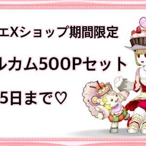 超お得なセットが500円!!