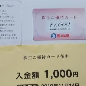 【株主優待】西松屋チェーン(7545)から株主優待が届きました